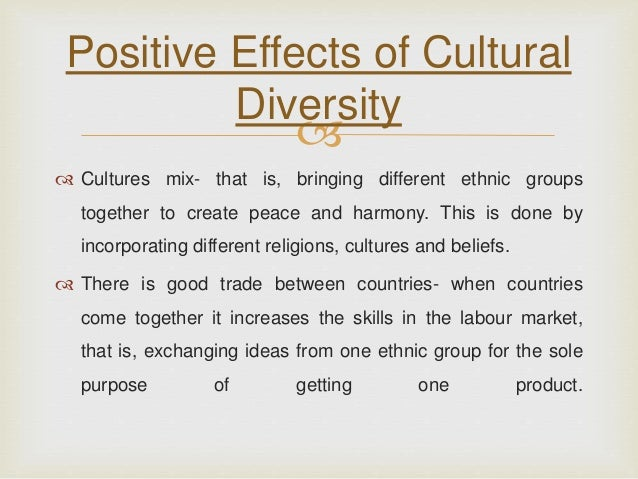 cultural diversity good or bad Biodiversity and its loss despite this cultural diversity peoples attitudes to other species and high biodiversity good and low biodiversity bad.