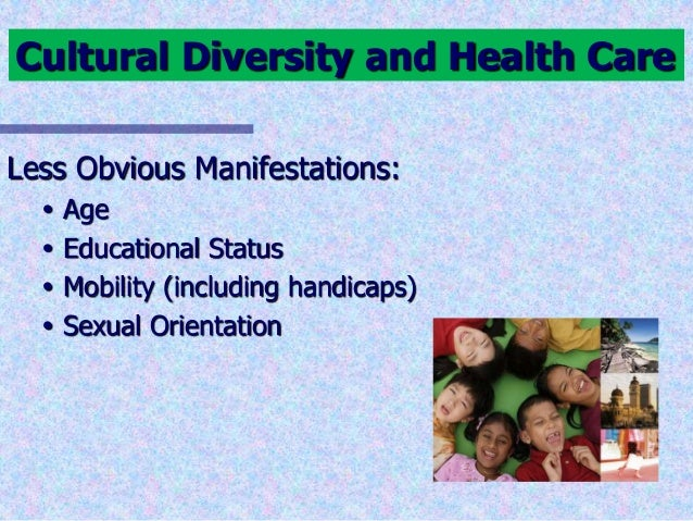 Cultural diversity in healthcare