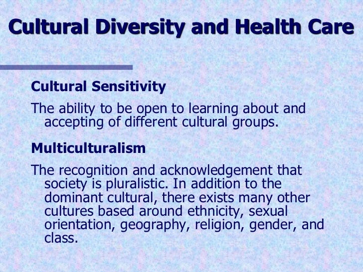 twelve essays on culture and healthcare essay Cultural knowledge is when a health care professional seeks information regarding different cultures and ethnic groups they look at the differences that one culture/ethnic group may have regarding treatment of an illness, health conditions, and biological variations.
