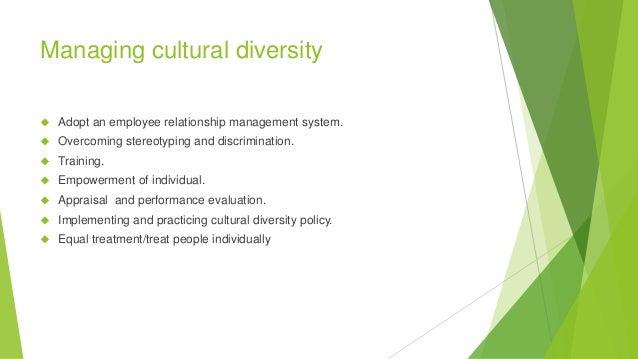 individual cultural diversity training
