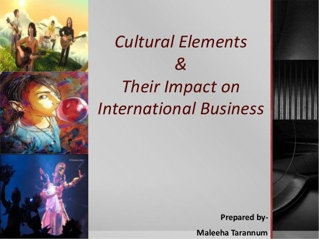 impact of culture in international marketing Culture has a great impact on international marketing a marketer must have to  study about the local culture in-depth before offering a product.
