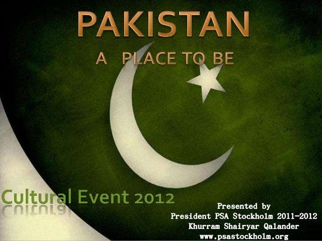 Cultural event presentation_khurram
