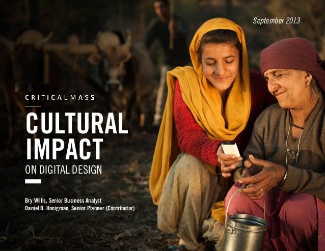 Cultural Impact on Digital Design