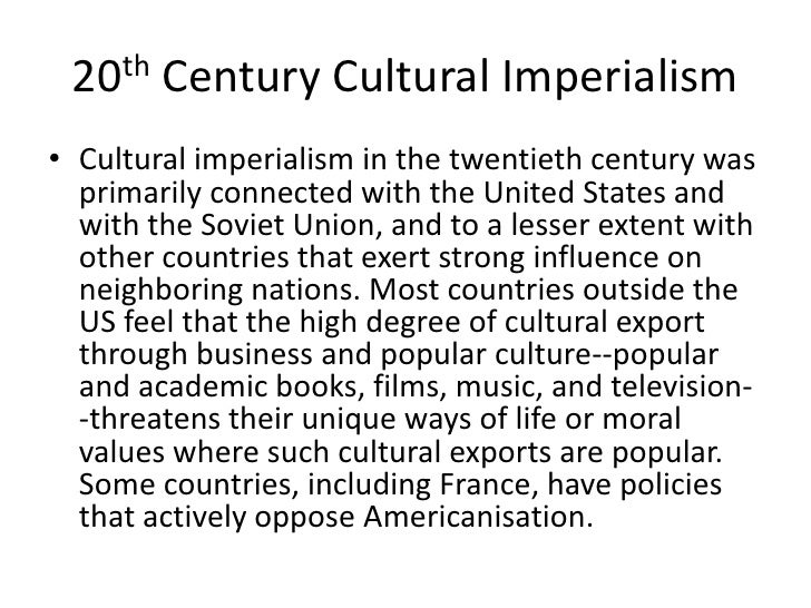 are human rights a form of cultural imperialism After human and citizens rights had been colonialism and imperialism but also politically more judgmental and emotionally charged form of imperialism.