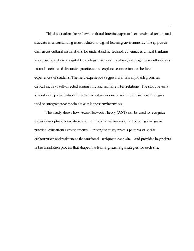 Dissertation Film