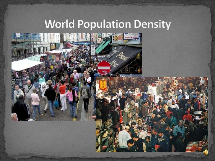 World Population Density<br />