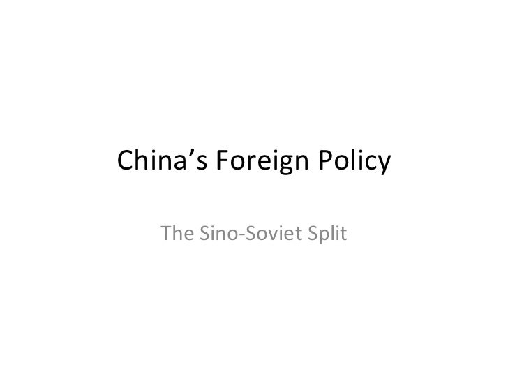 chinese and american foreign policy essay United states foreign policy essay examples an analysis of the foreign policy of the united states and the way it influences other countries 3,545 words 8 pages.