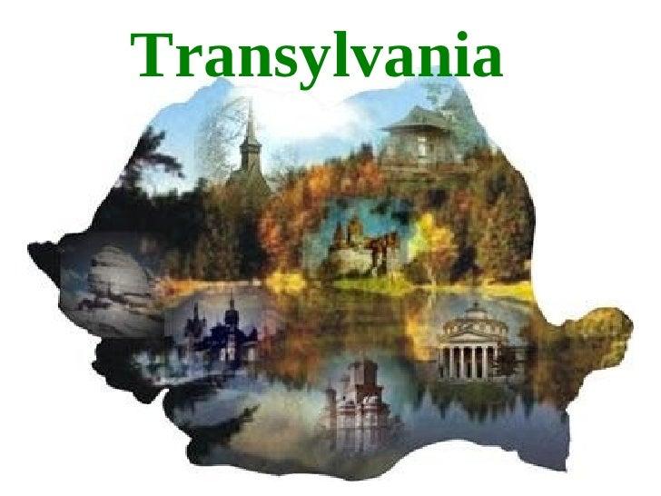 Cultural seminar romania transylvania