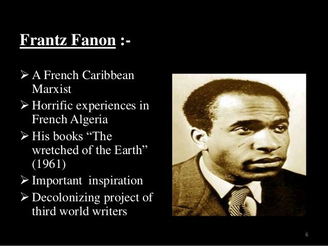 essays on frantz fanon A dying colonialism by frantz fanon information gleaned from the many exiles whom fanon treated in tunis the five essays are a wonderful mixture of insightful.