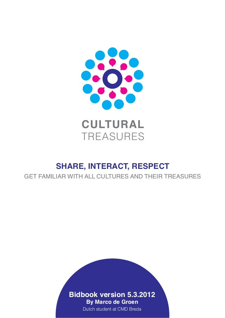 SHARE, INTERACT, RESPECTGET FAMILIAR WITH ALL CULTURES AND THEIR TREASURES            Bidbook version 5.3.2012            ...