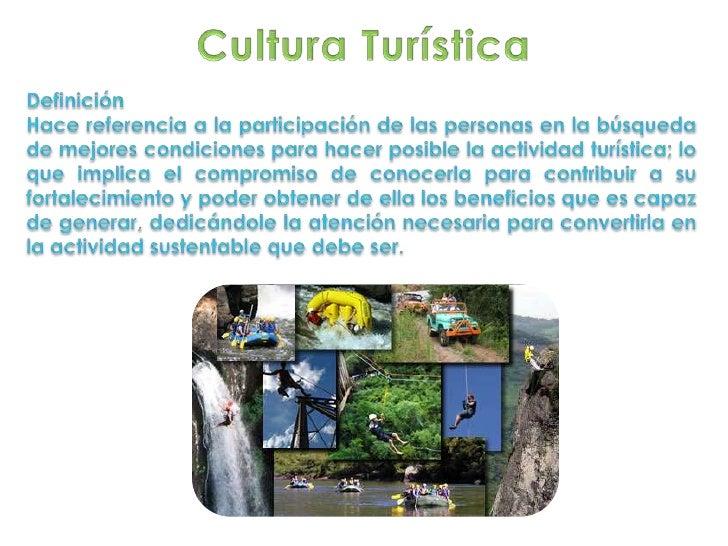 Cultura turística
