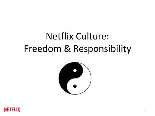 The Netflix Culture