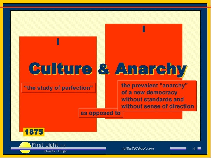 anarchy criticism culture essay in political social