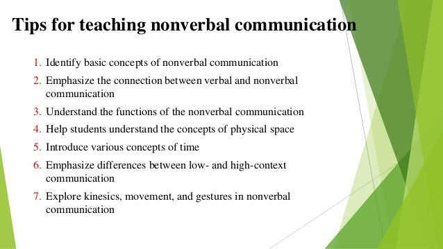 nonverbal communication and cultural differences essay Gender difference in 3 gender differences in nonverbal communication communication has always been an important skill that all people should develop.
