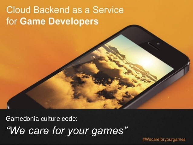 Culture Code Gamedonia BaaS Solutions