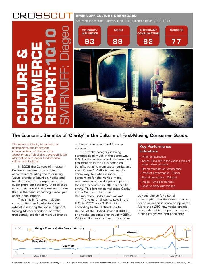 Crosscut Advisory: Culture and Commerce Report: Vodka