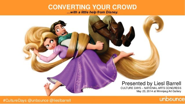 Converting Your Crowd for Culture Days, National Arts Congress