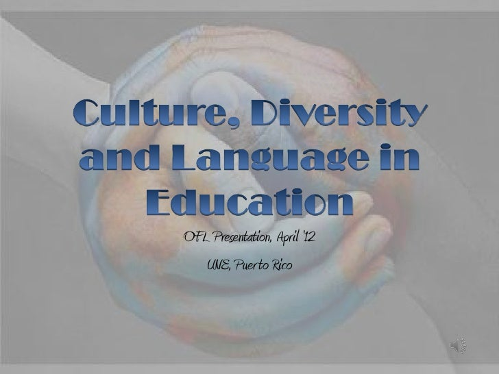 Culture, diversity and language in education music