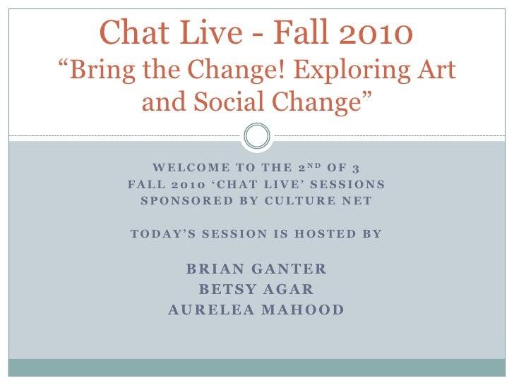Culture net chat live   session 2
