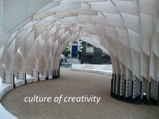 culture of creativity