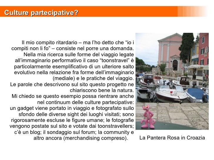 """Culture partecipative? La Pantera Rosa in Croazia Il mio compito ritardario – ma l'ho detto che """"io i compiti non li fo"""" –..."""