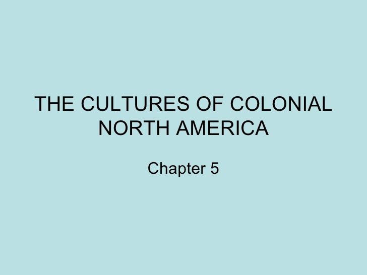 Cultures of North Ameirica