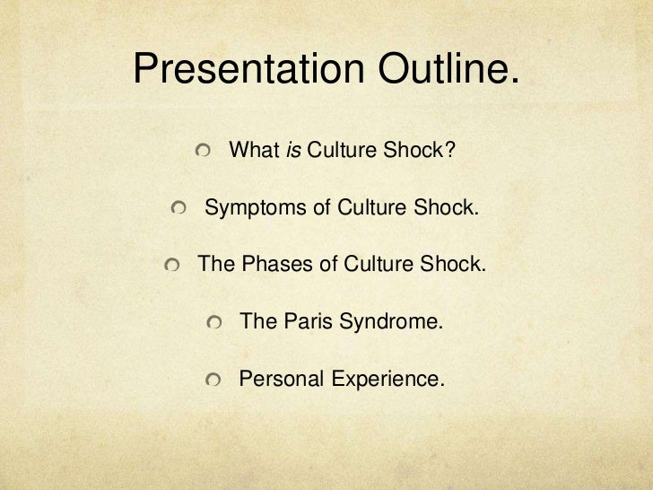 coping with culture shock essay Culture shock isn't a dealing with the the key to getting over your culture shock is understanding the new culture and finding a way to live.