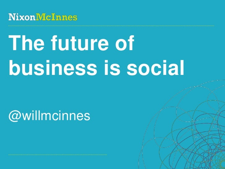 Culture Shock: the future of business is social