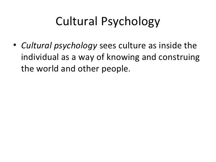 cross cultural considerations in psychology Cultural differences in attachment a-level psychology attachment revision notes cross-cultural patterns of attachment: a meta-analysis of the strange situation.