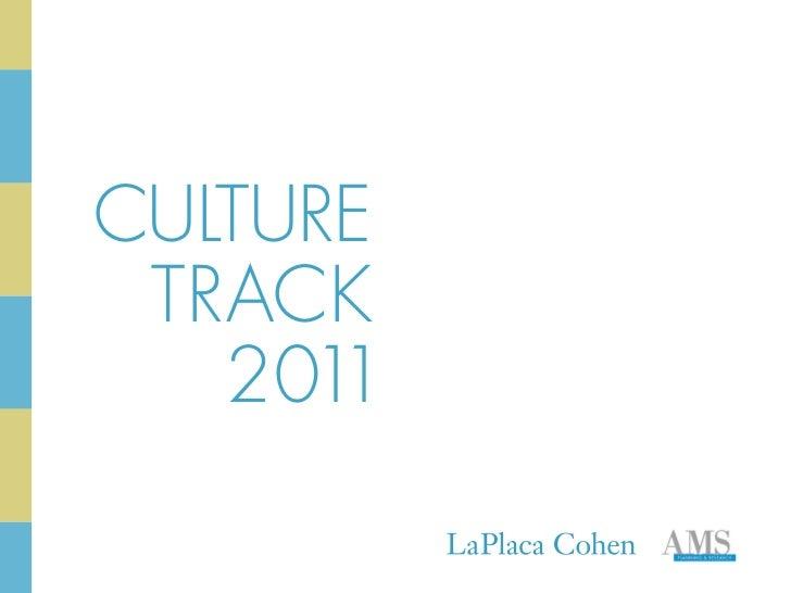 CULTURE TRACK   2011