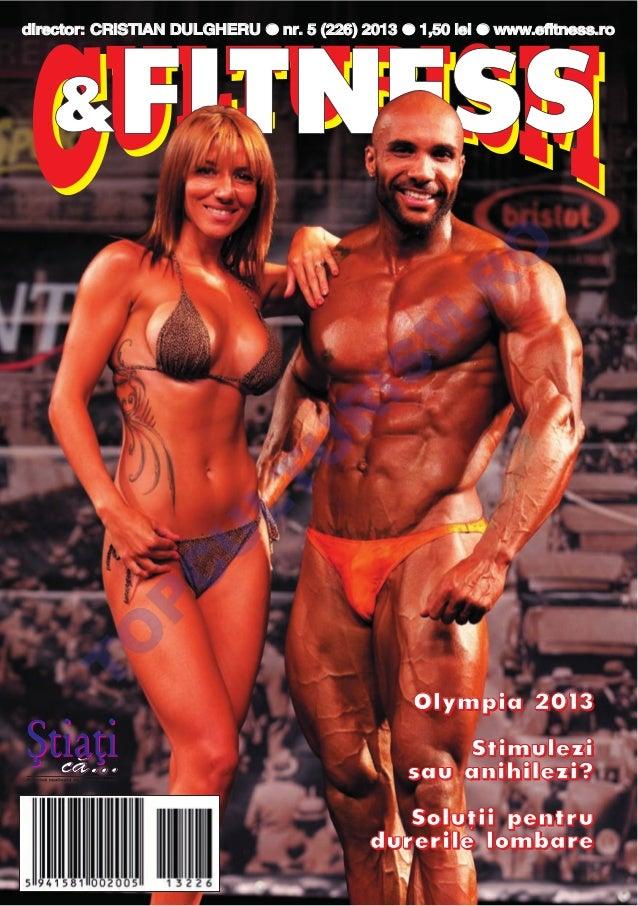 Revista Culturism si Fitness nr. 226 (5/2013)