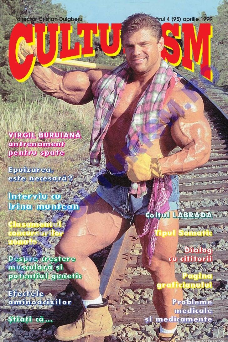 Revista Culturism nr.95 (4/1999)