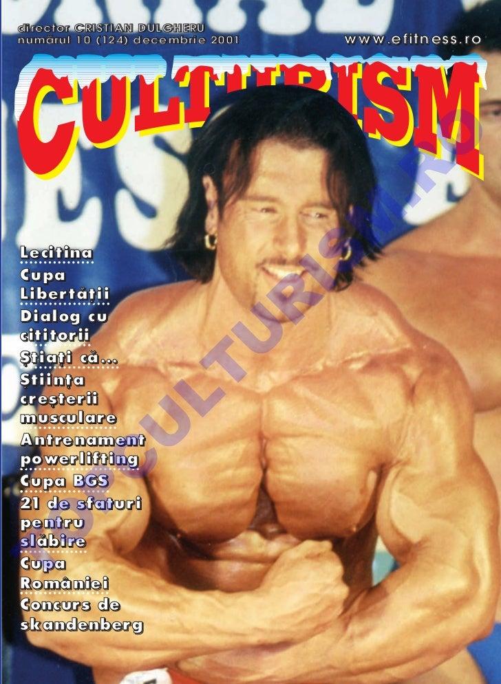 Revista Culturism nr. 124 (10/2001)