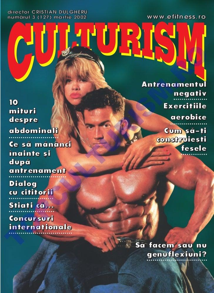 Revista Culturism nr. 127 (3/2002)
