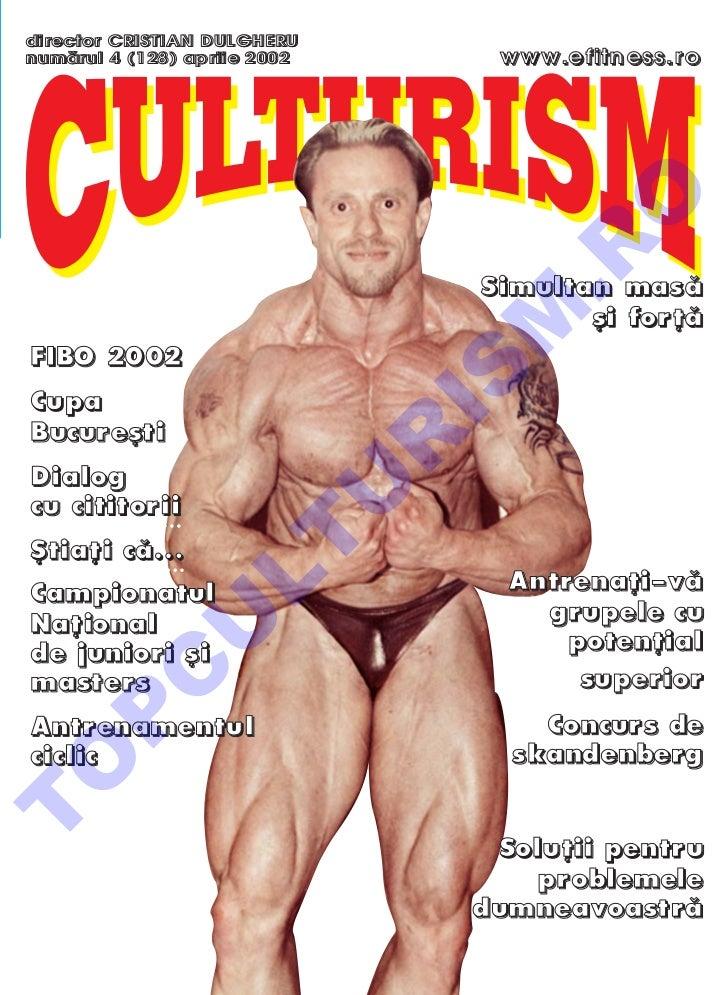 Revista Culturism nr. 128 (4/2002)