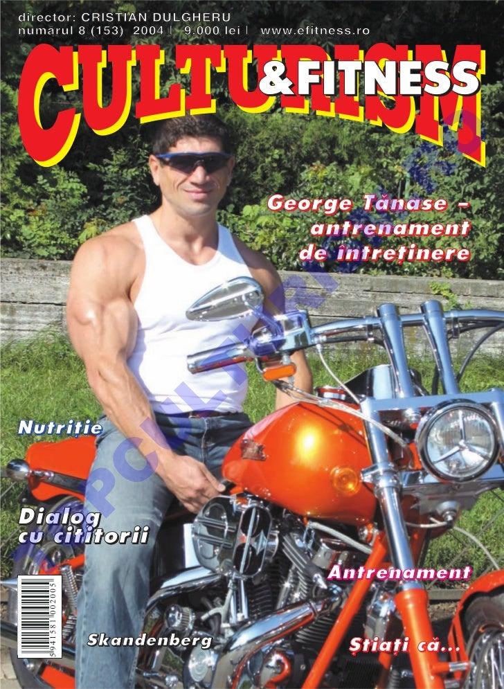 Revista Culturism & Fitness nr. 153 (8/2004)