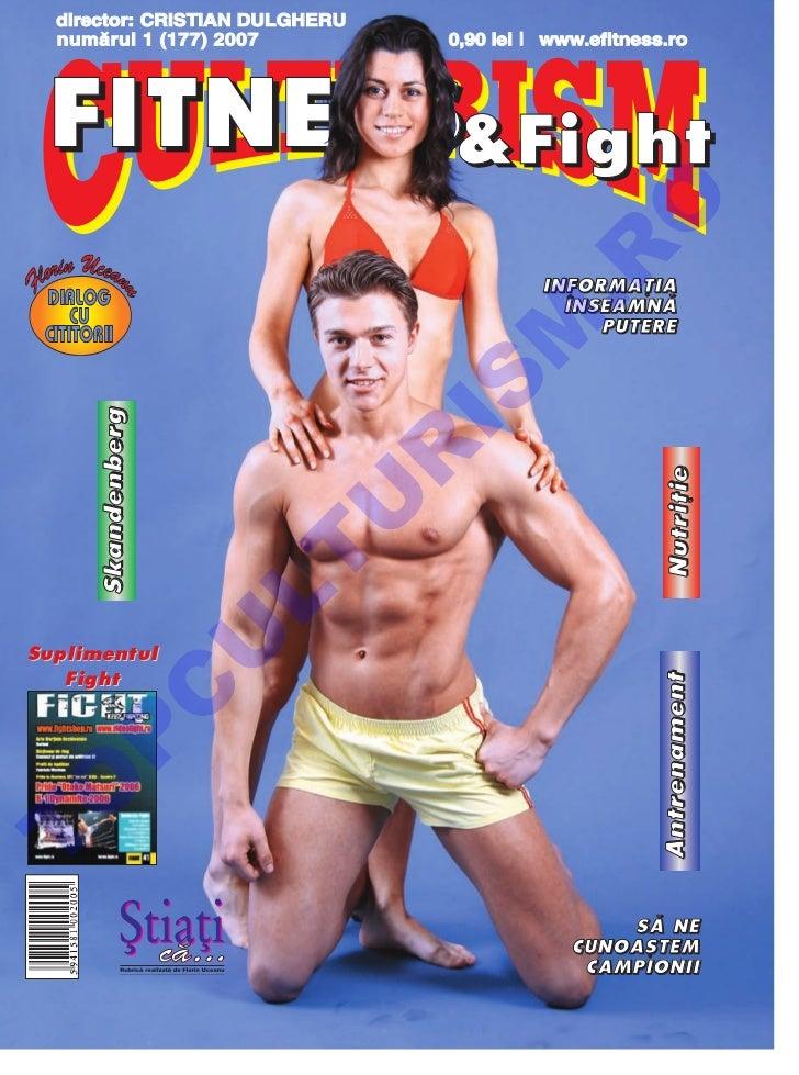 Revista Culturism & Fitness nr.  177 (1/2007)