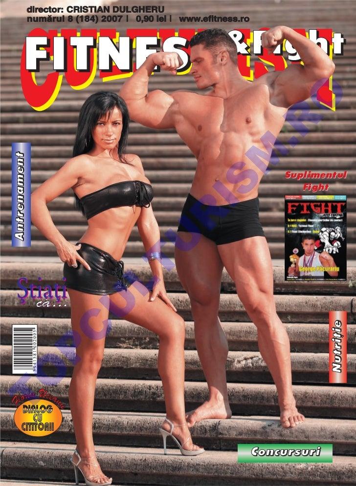 Revista Culturism & Fitness nr.  184 (8/2007)
