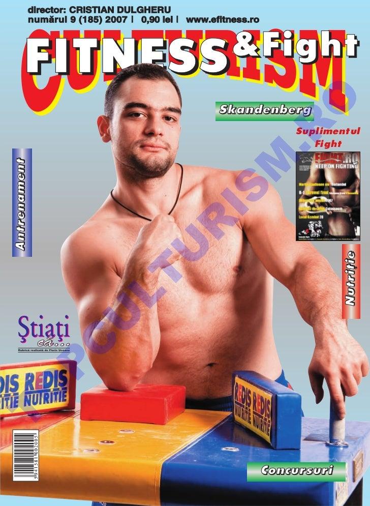 Revista Culturism & Fitness nr.  185 (9/2007)