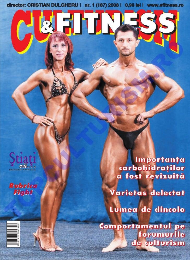 Revista Culturism & Fitness nr. 187 (1/2008)