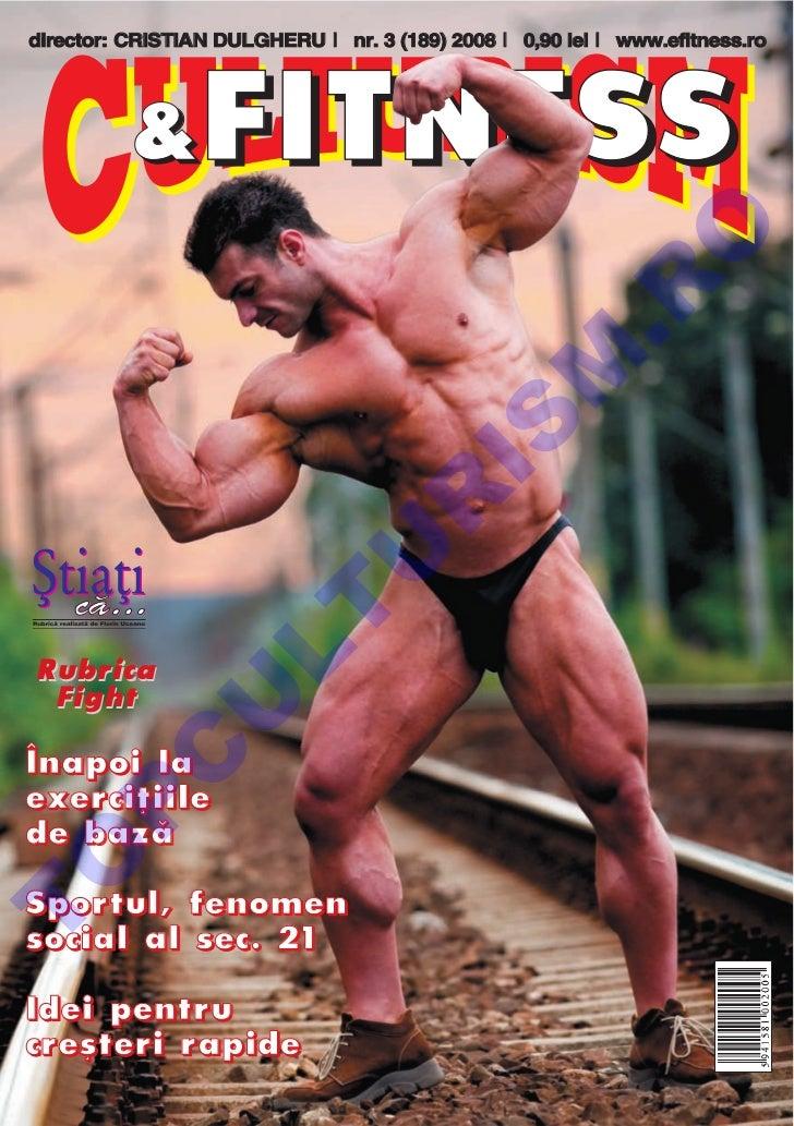 Revista Culturism & Fitness nr. 189 (3/2008)