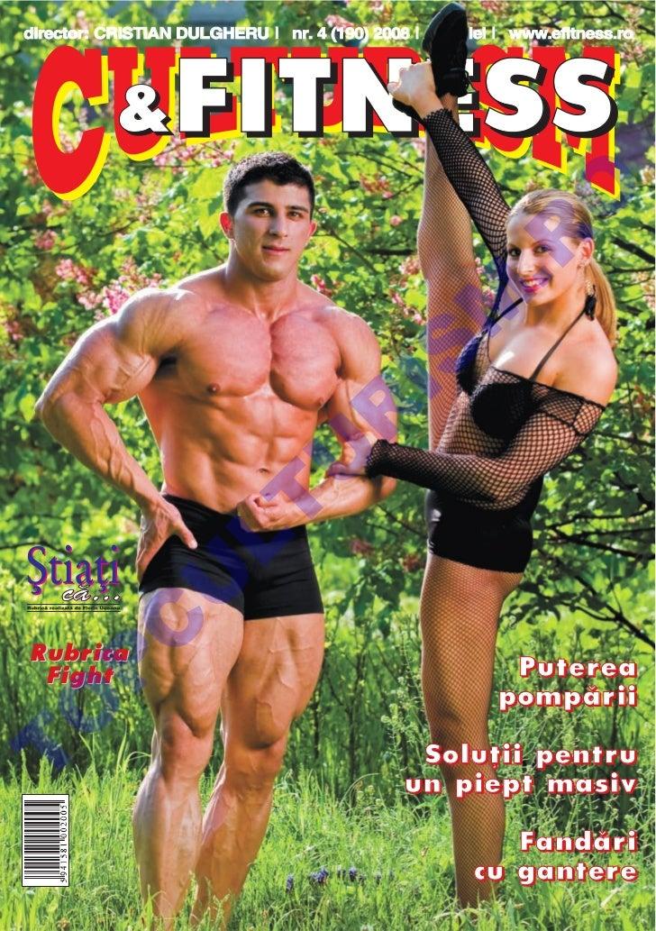 Revista Culturism & Fitness nr. 190 (4/2008)