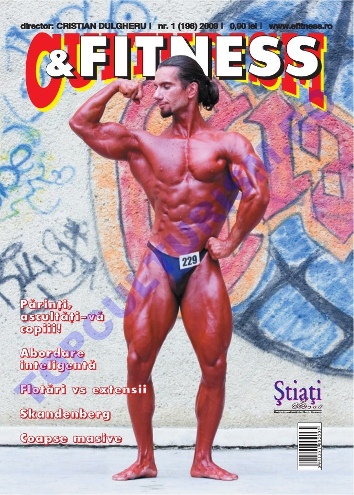 Revista Culturism & Fitness nr. 196 (1/2009)