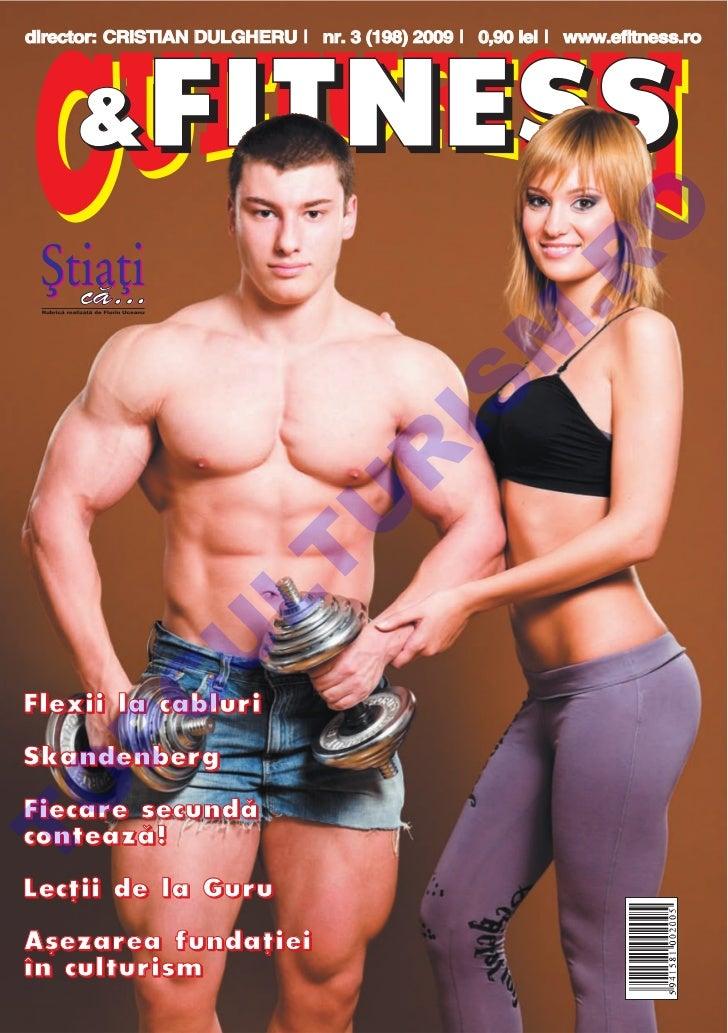 Revista Culturism & Fitness nr. 198 (3/2009)