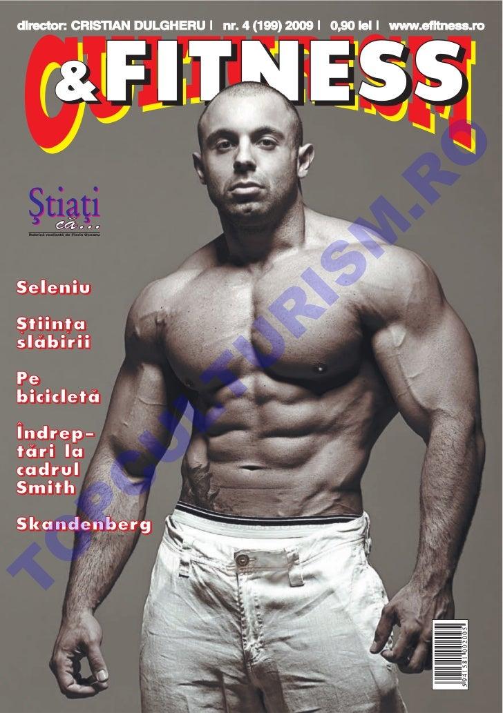 Revista Culturism & Fitness nr. 199 (4/2009)