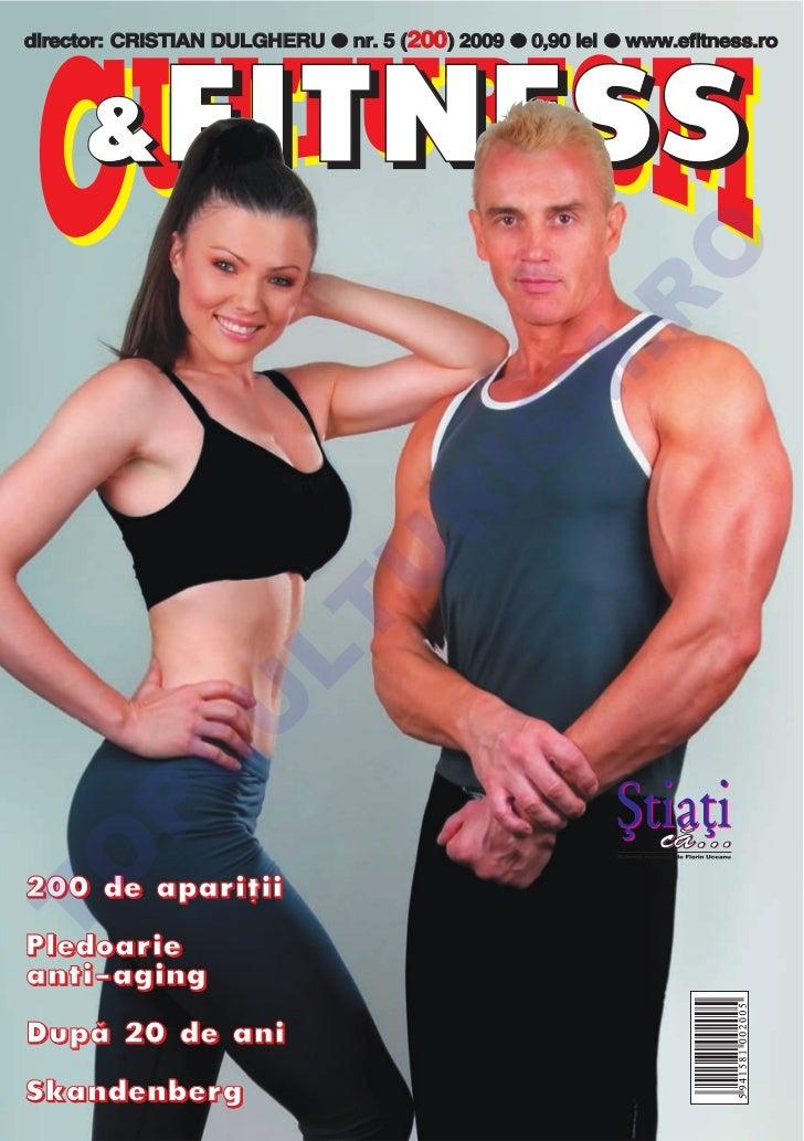 Revista Culturism & Fitness nr. 200 (5/2009)