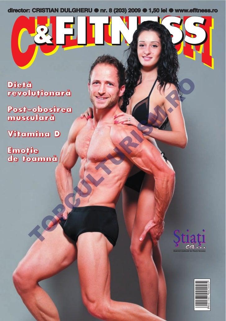 Revista Culturism & Fitness nr. 203 (8/2009)