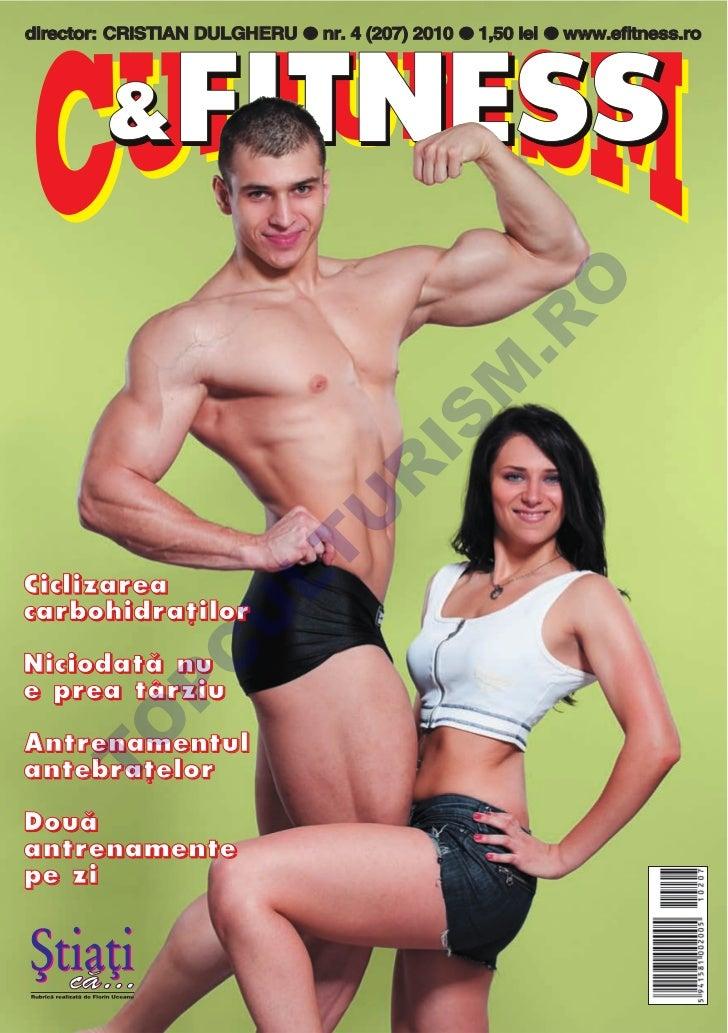 Revista Culturism & Fitness nr. 207 (4/2010)