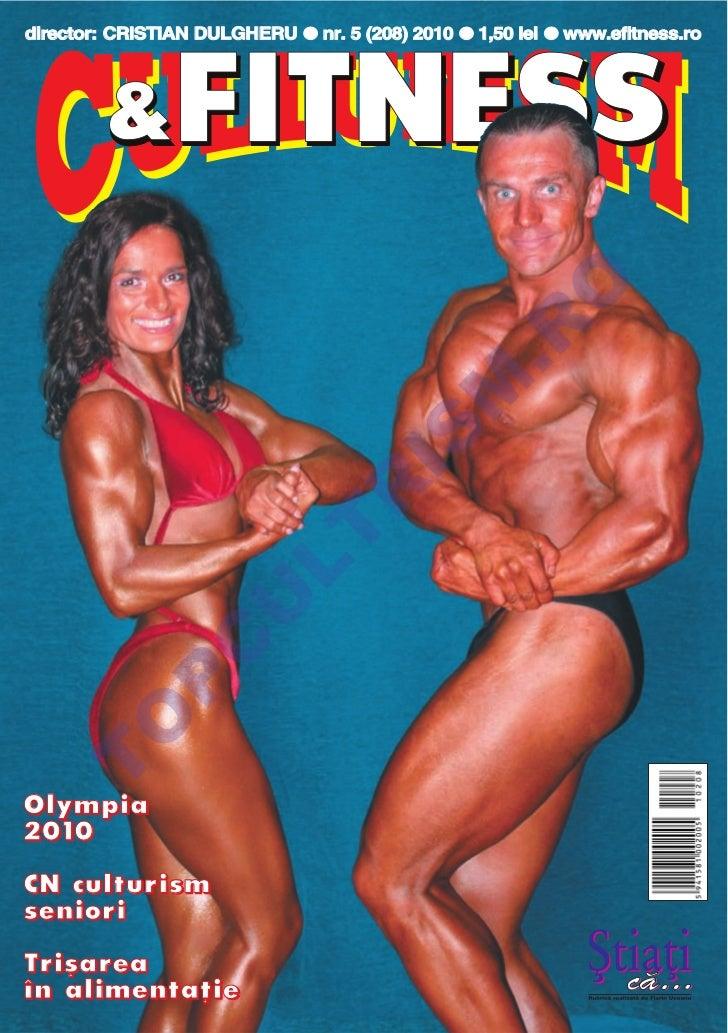 Revista Culturism & Fitness nr. 208 (5/2010)