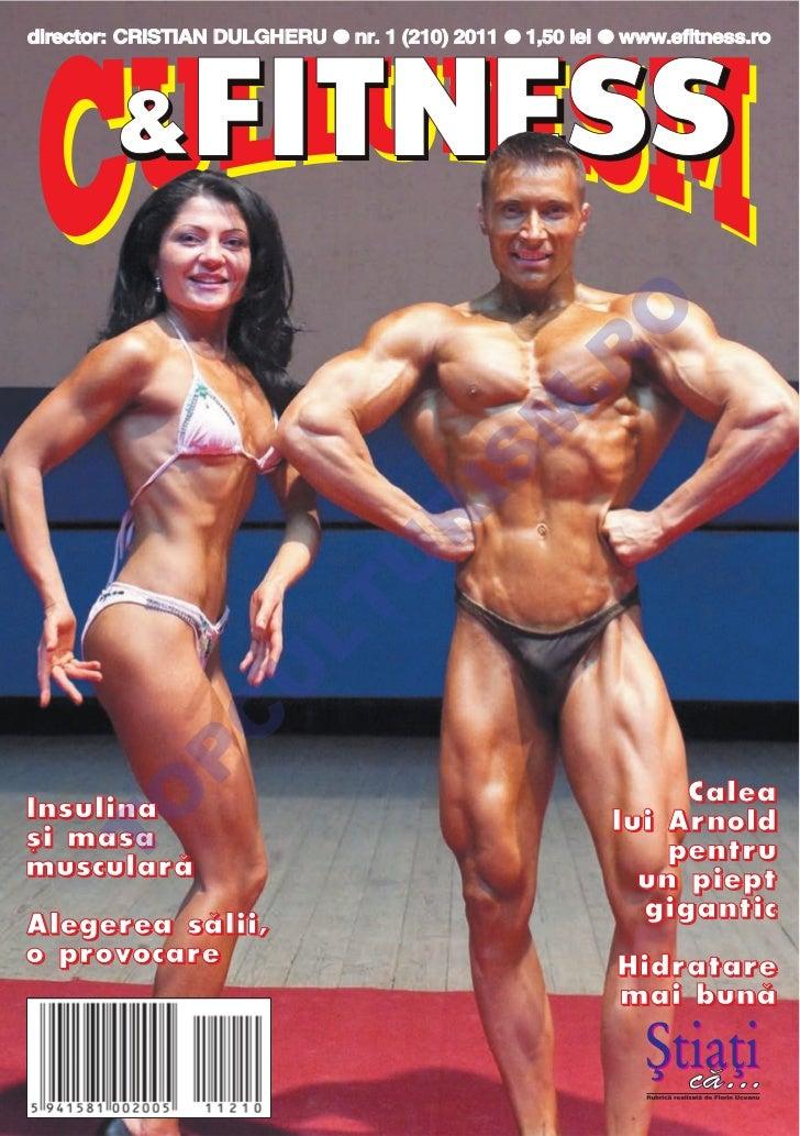 Revista Culturism & Fitness nr. 210 (1/2011)